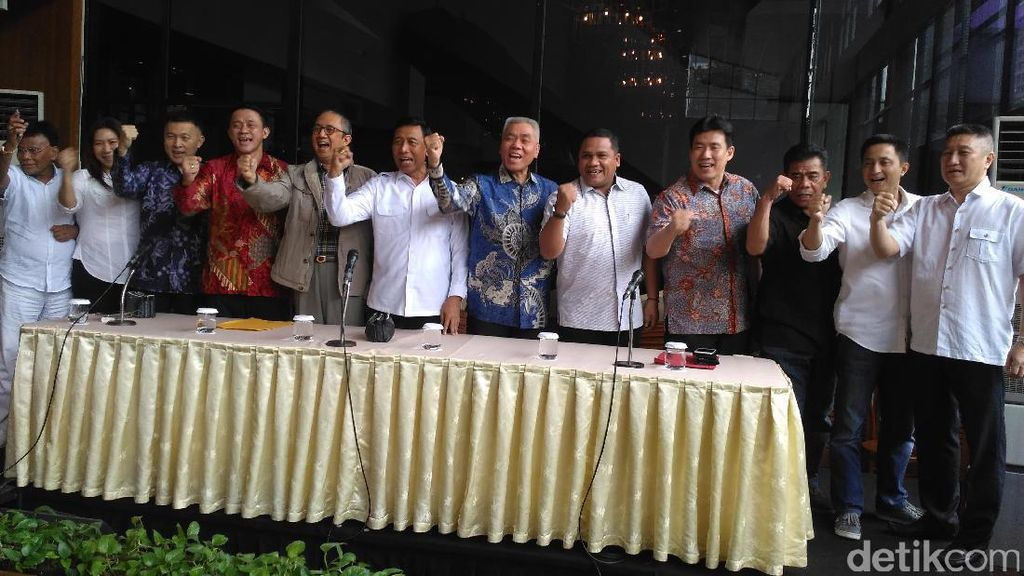 Ketum PBSI Wiranto Umumkan Susunan Kepengurusan
