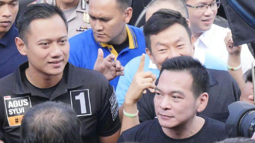 Agus Yudhoyono Sayangkan Atribut Partai Politik di Area CFD