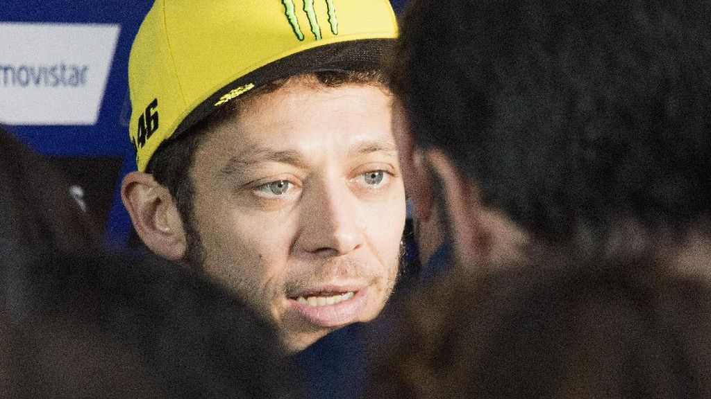 Kendarai Audi RS6, Valentino Rossi Kecelakaan
