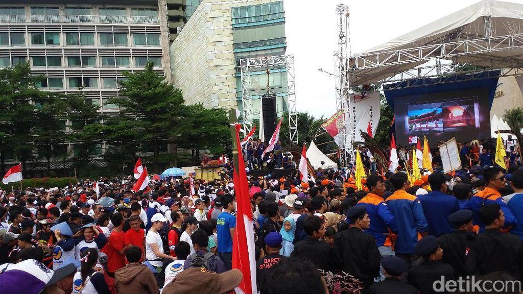 Soal Atribut Partai di CFD, Plt Gubernur DKI: Kami Tak Akan Panggil Parpol