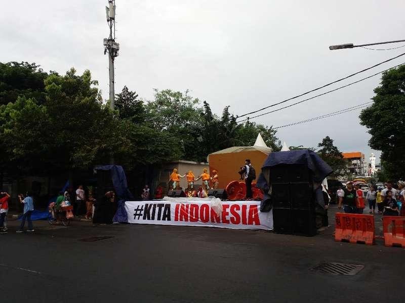 Surya Paloh, Djan Faridz Hingga Novanto Hadiri Parade Bhinneka Tunggal Ika
