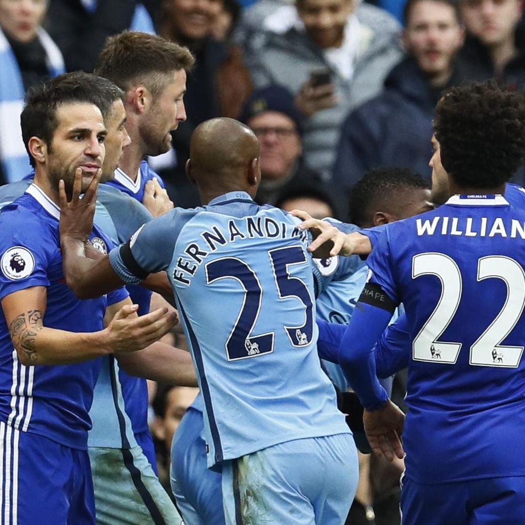 Para Pemainnya Terlibat Keributan, City-Chelsea Didakwa FA