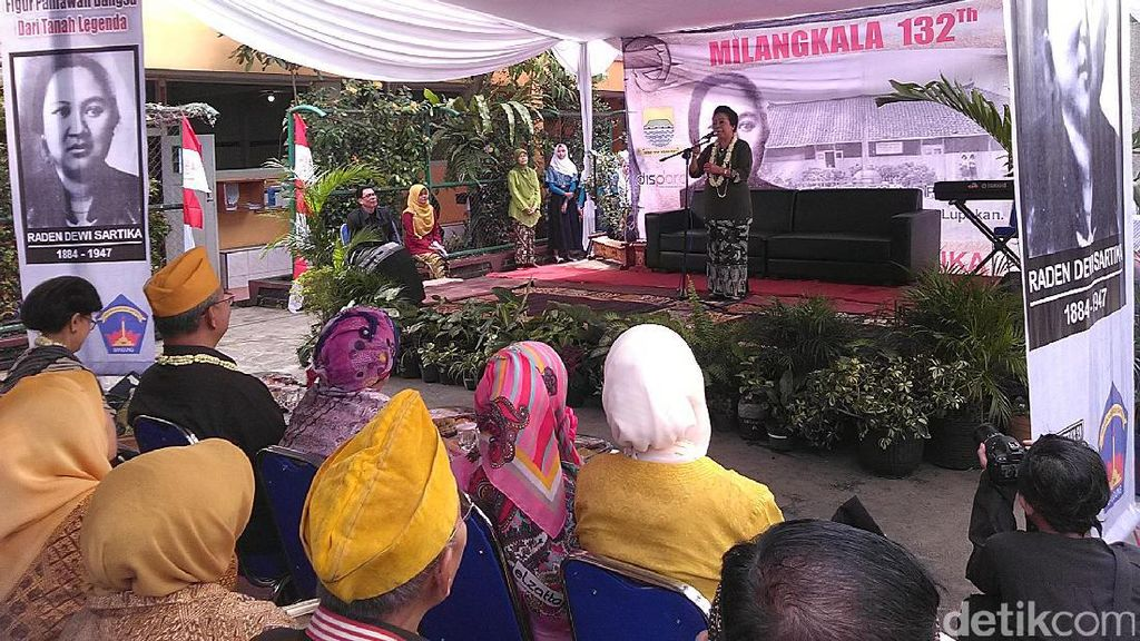Peringatan Hari Lahir Dewi Sartika, Pesan Ceu Popong : Jadilah Wanita yang Baik
