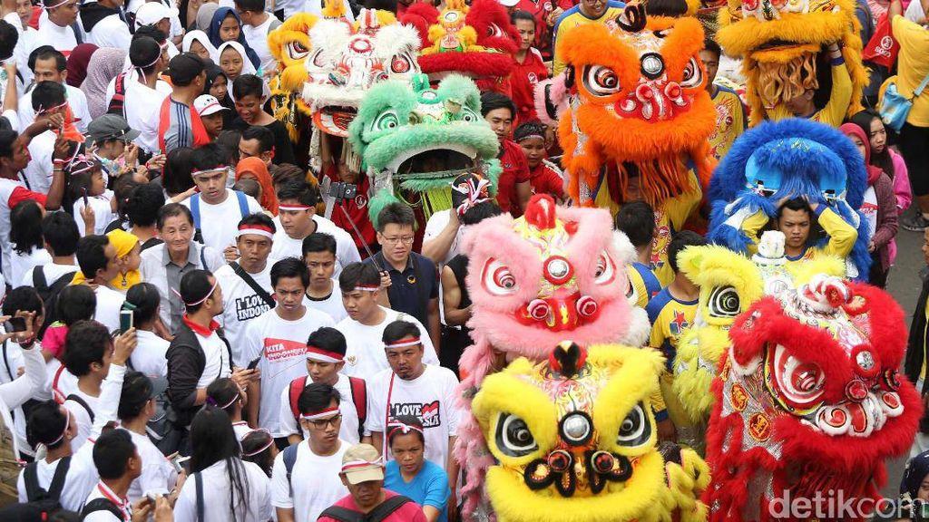 Parade Budaya Meriahkan Aksi Kita Indonesia