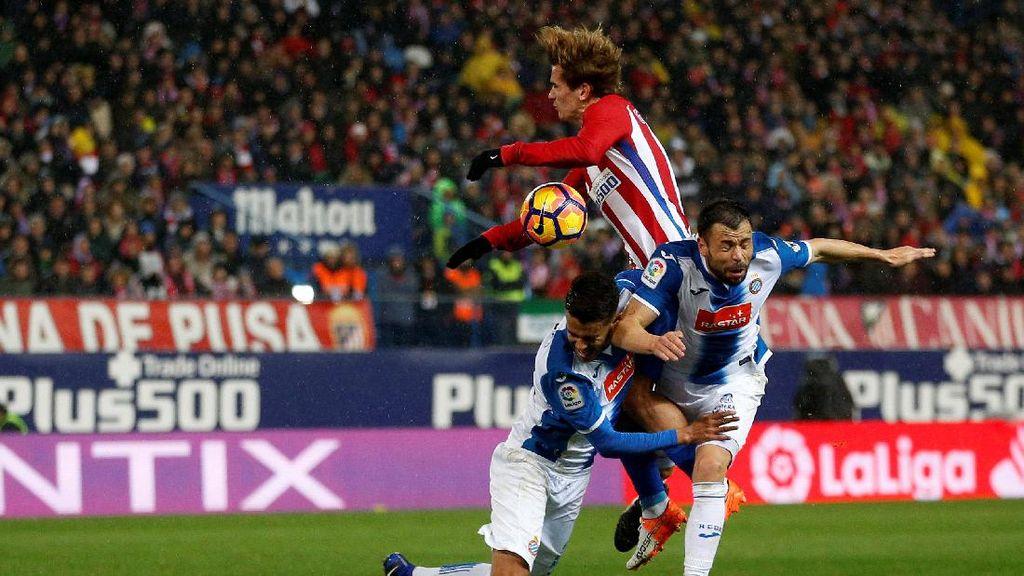 Atletico Ditahan Espanyol Tanpa Gol