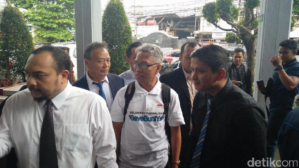 Daftar Praperadilan, Buni Yani Tiba di PN Jaksel