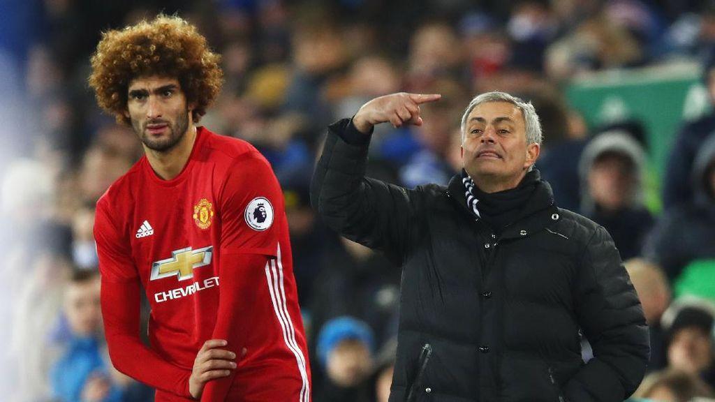 No Comment Soal Penalti, Mourinho Sebut MU Layak Menang