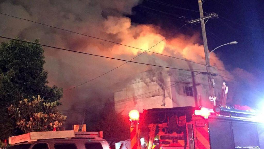 Korban Tewas Kebakaran di California Jadi 36, 11 Orang Teridentifikasi
