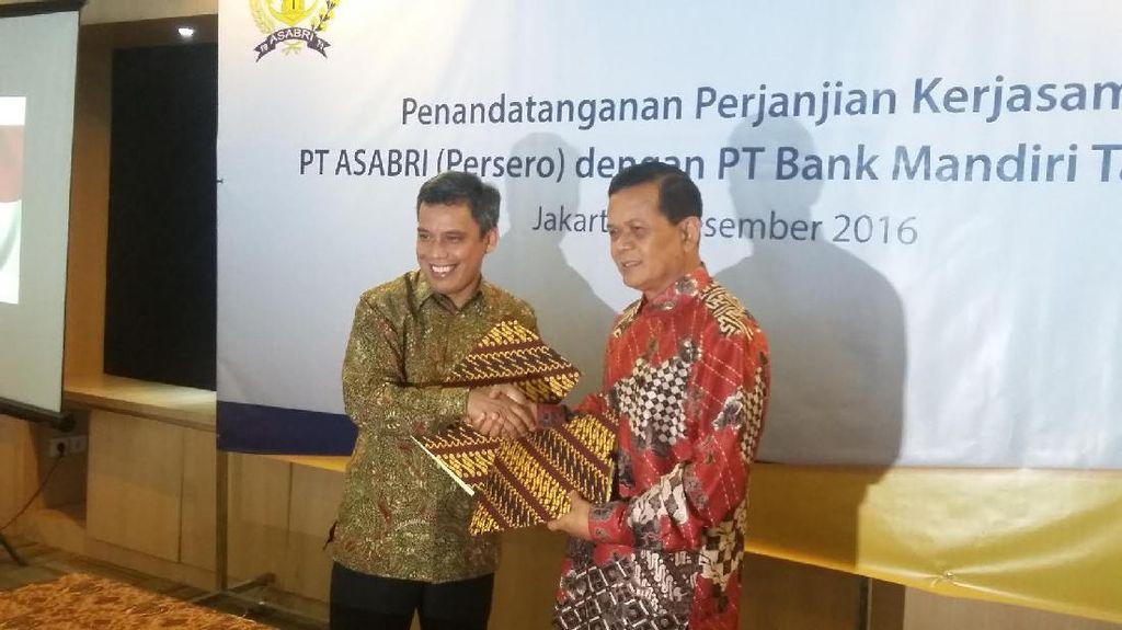 Layani Pensiunan TNI Polri, Bank Mantap Kerja Sama dengan ASABRI