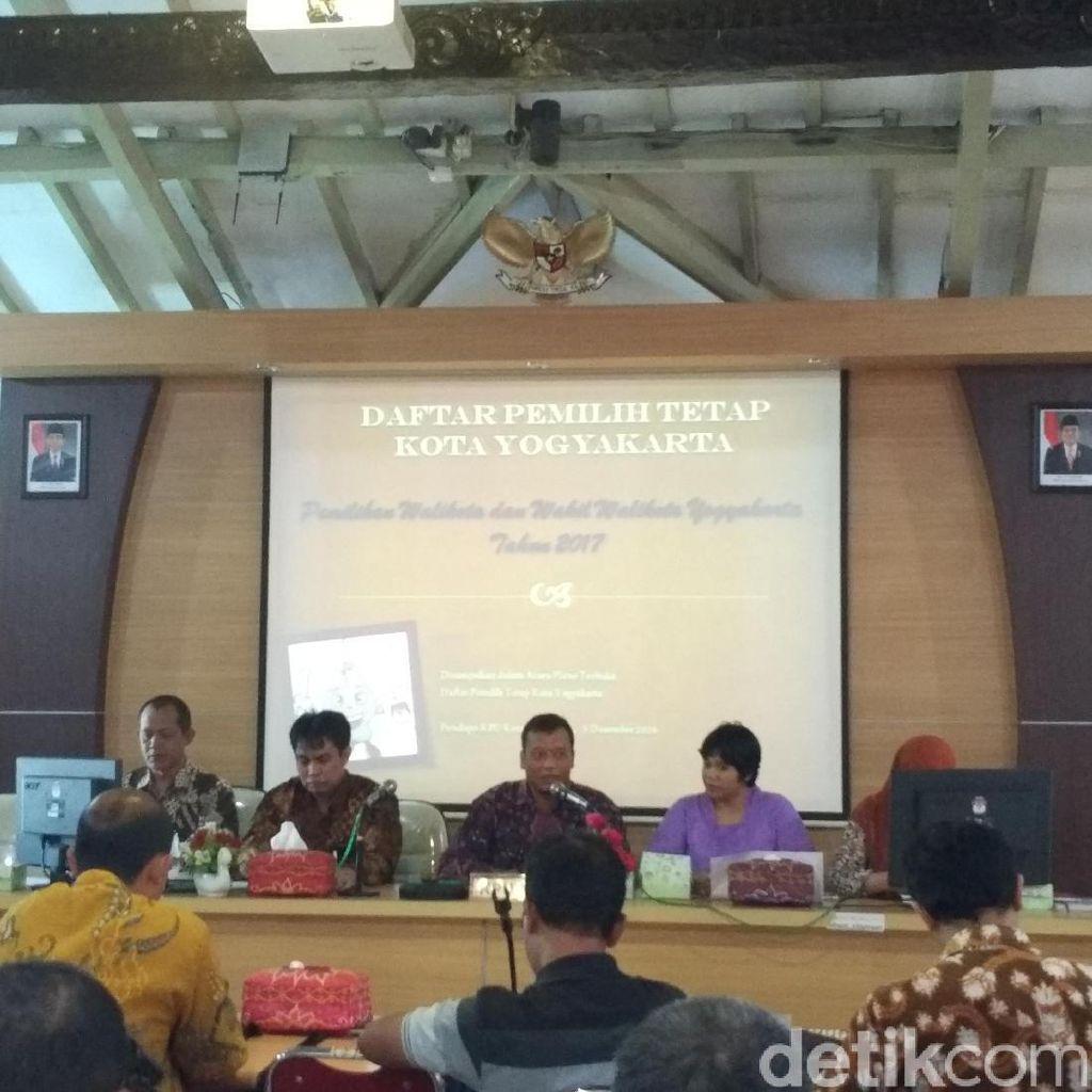 KPU Kota Yogyakarta Tetapkan DPT Pilwalkot 2017 Sebesar 298.989 Pemilih