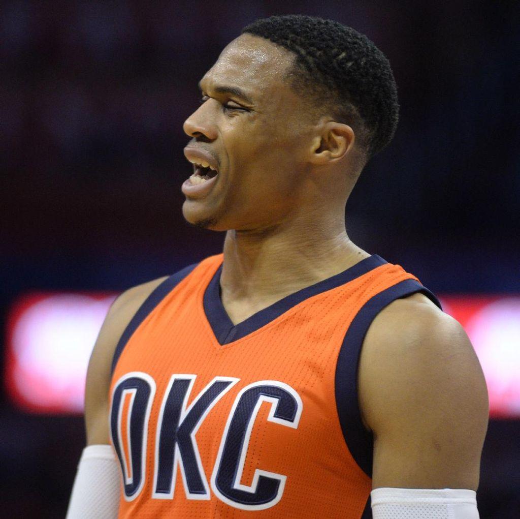 Thunder Kalahkan Pelicans, Westbrook Buat Triple-Double Kelima Beruntun