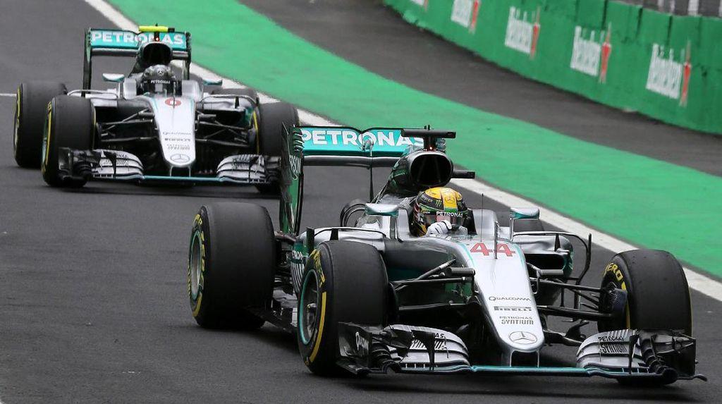 Ferrari Yakin Mercedes Takkan Melemah Usai Rosberg Pensiun