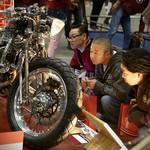 Naga Lima, Honda Tiger 5 Silinder Curi Perhatian di Yokohama