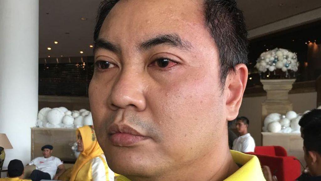 Mata Merah, Begini Luka Ketua DPD Golkar DKI yang Ribut Usai Aksi 412