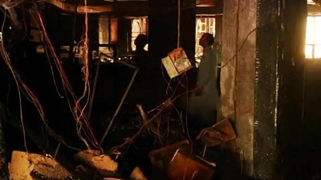 Hotel Mewah Terbakar di Pakistan, Puluhan Tamu Lompat dari Jendela