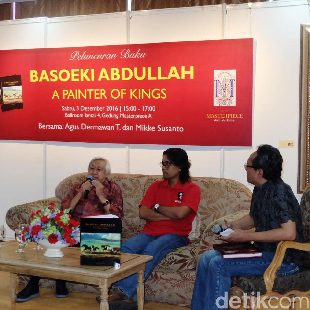 Balai Lelang Masterpiece Luncurkan Buku Basoeki Abdullah - Painter of Kings