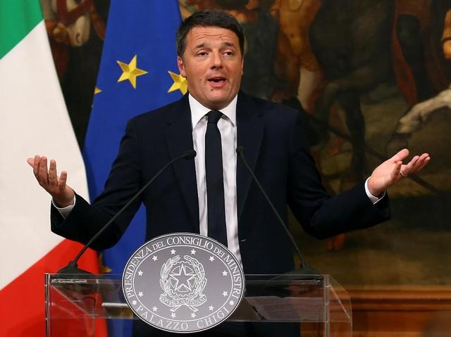 PM Italia Matteo Renzi Mengundurkan Diri