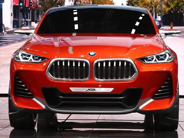 Tampang Baru BMW X2 di 2018