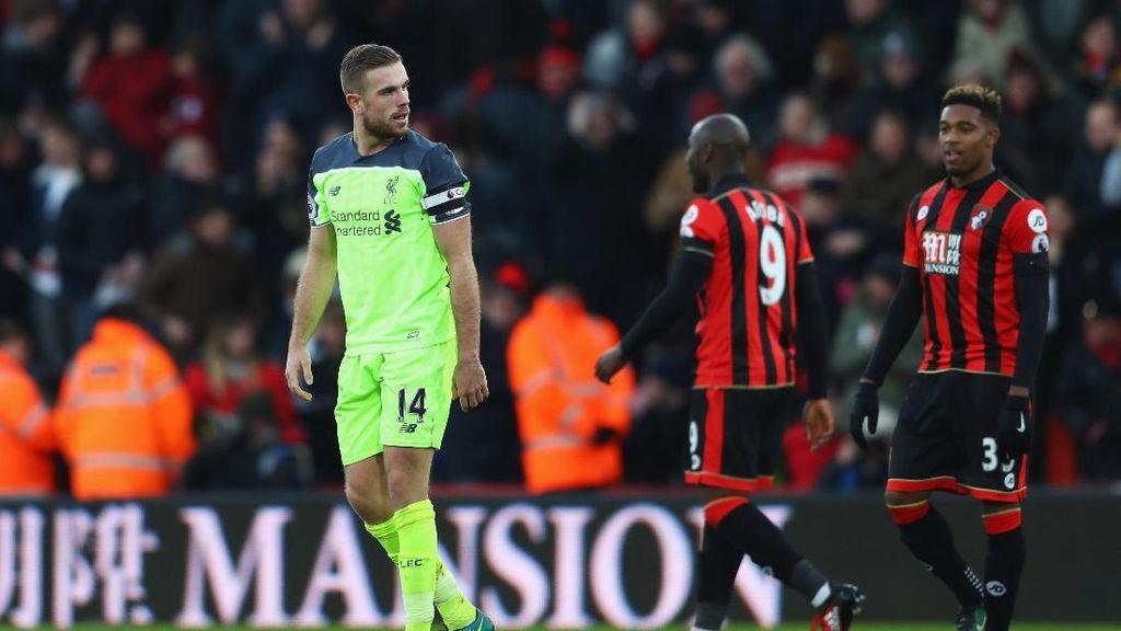 Liverpool Kolaps di Bournemouth, Henderson Sudah Merasa Ada yang Tak Beres