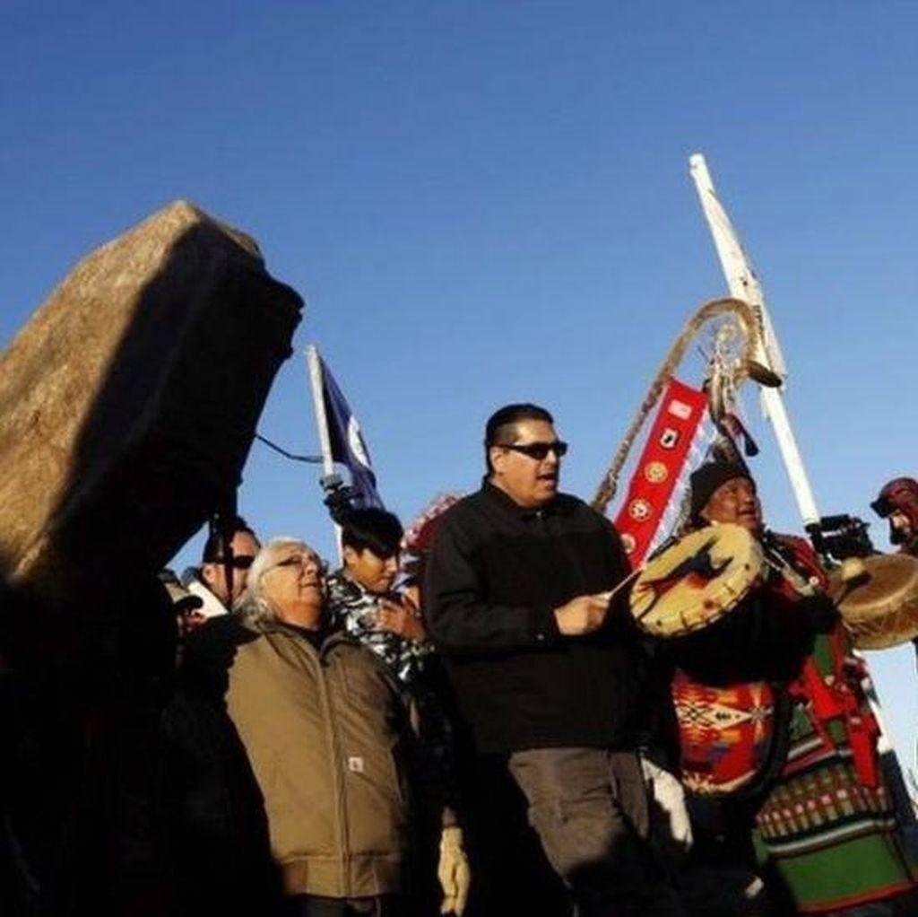 Militer AS Larang Jalur Pipa Minyak di Kawasan Indian Kendati Disetujui Trump