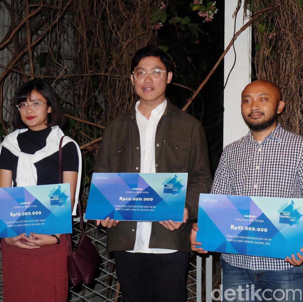 Suryo Herlambang Juarai Kompetisi Seni Karya Trimatra Salihara 2016