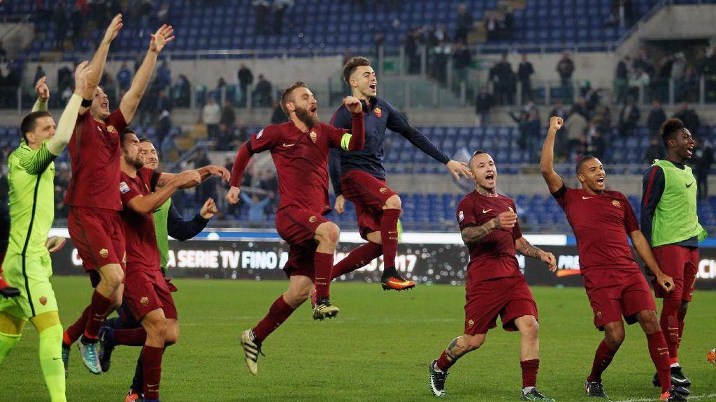 Lazio Sudah, Roma Alihkan Fokus ke Milan