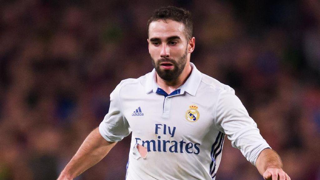 Kena Infeksi Perikardium, Berapa Lama Dani Carvajal Absen di Real Madrid?