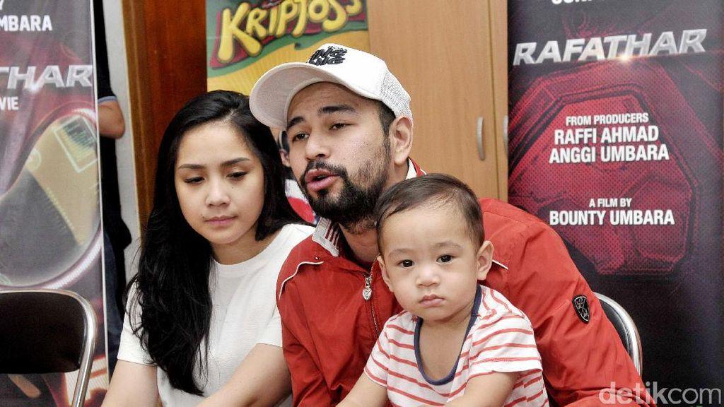 Bikin Film Rafathar, Raffi Ahmad Bantah Eksploitasi Anak