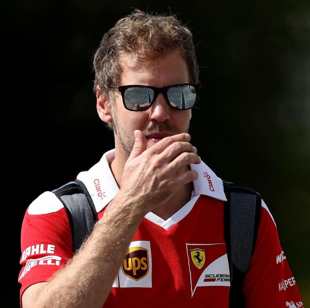 Menurunnya Prestasi Vettel Kesalahan Ferrari