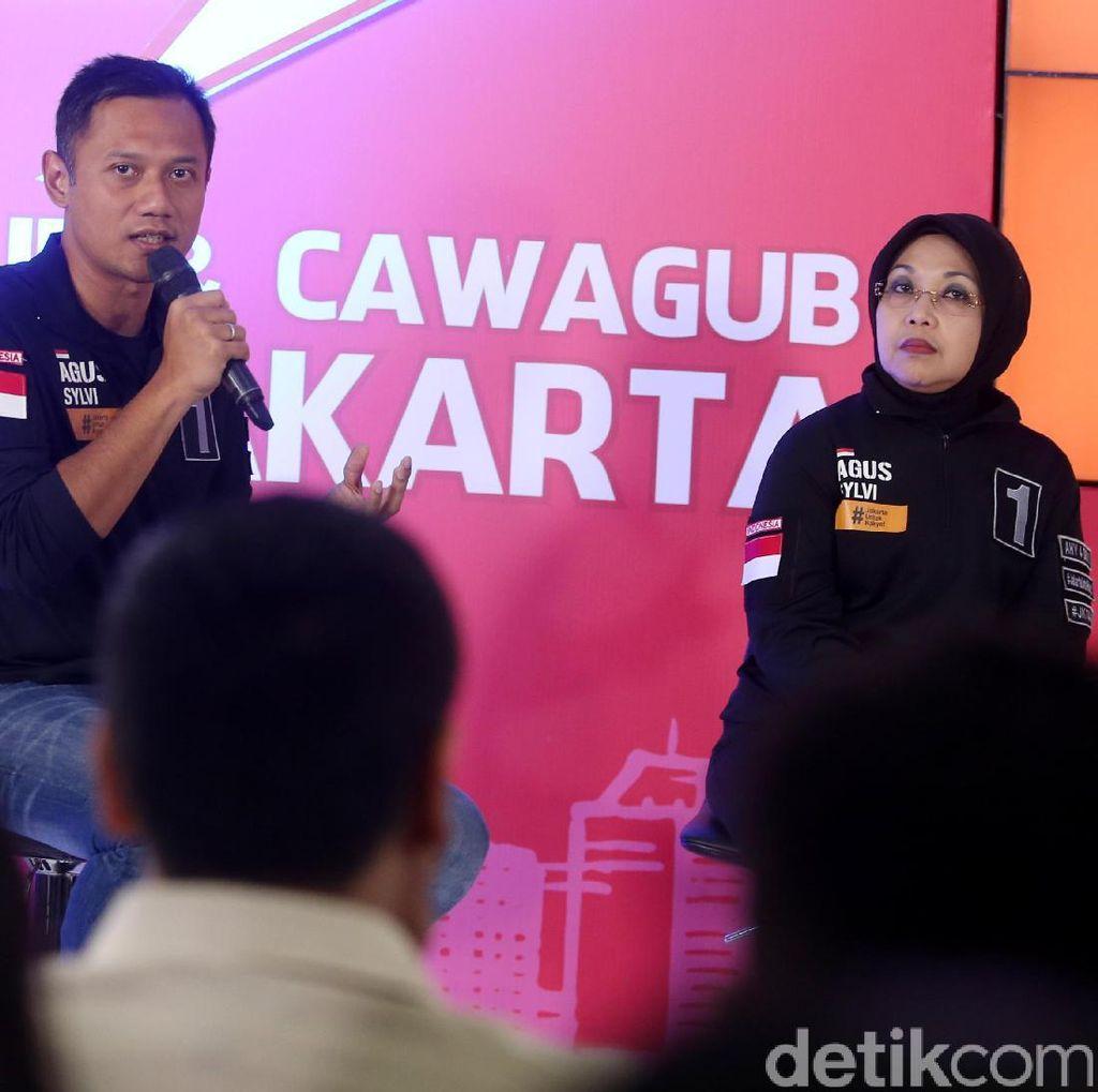 Agus Yudhoyono: Ibu Sylviana Tak Akan Jadi Ban Serep