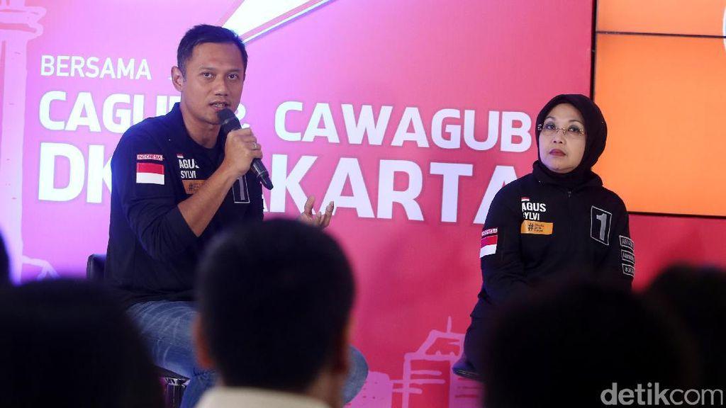 Hadapi Debat Kedua, Agus Yudhoyono: Saya Punya Mpok Sylvi