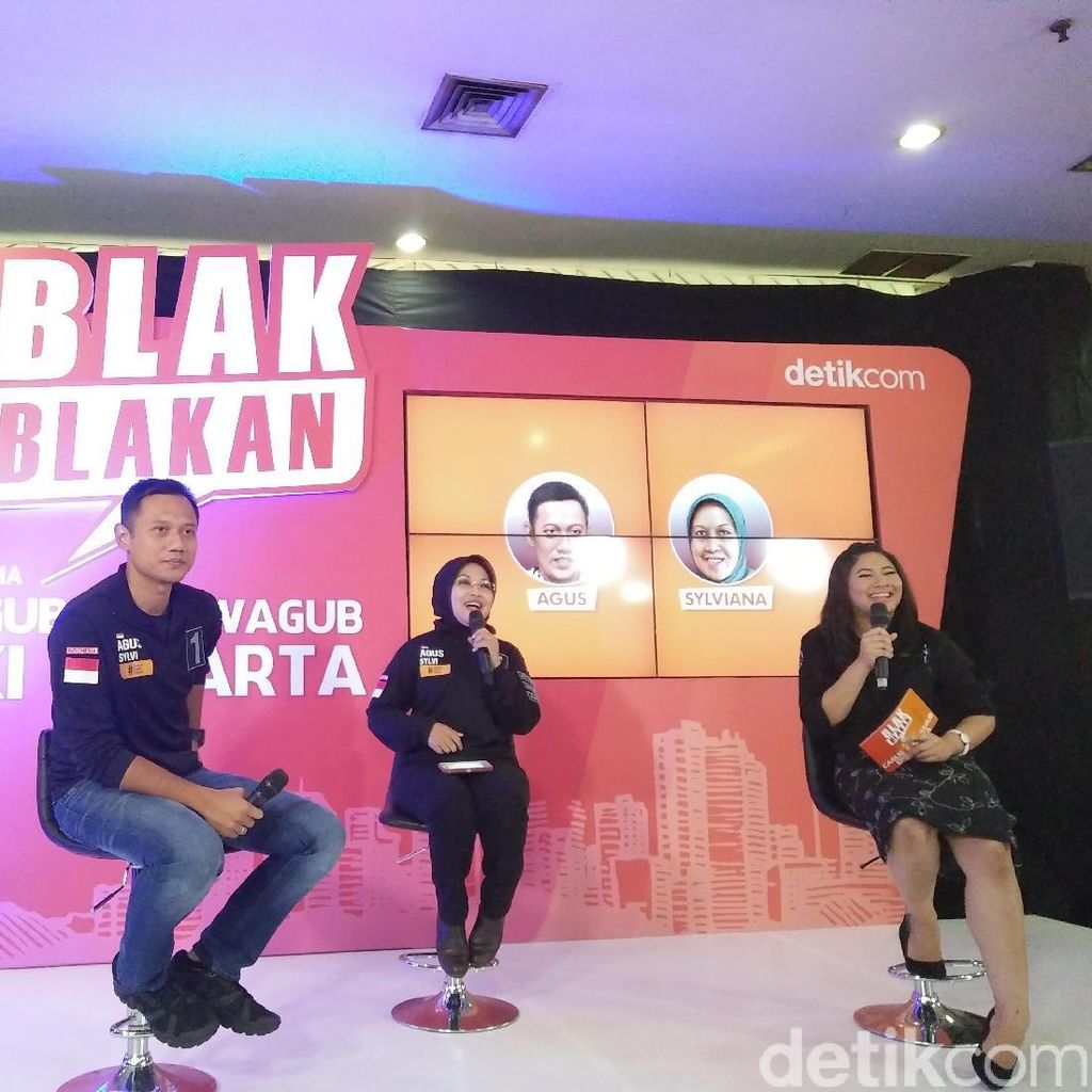Bayangan Agus-Silvi Soal Wisata Waterfront City di Jakarta