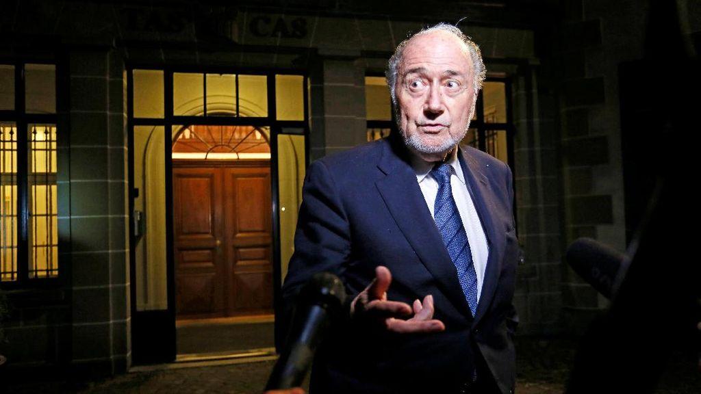 CAS Tolak Banding Blatter