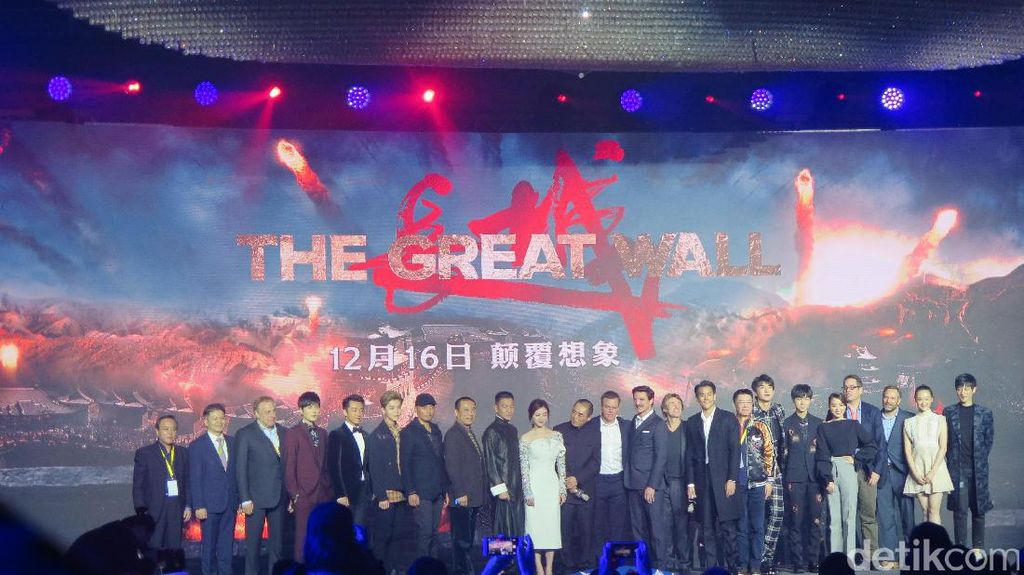 Ada Tiga Ratus Juta Monster di Film The Great Wall