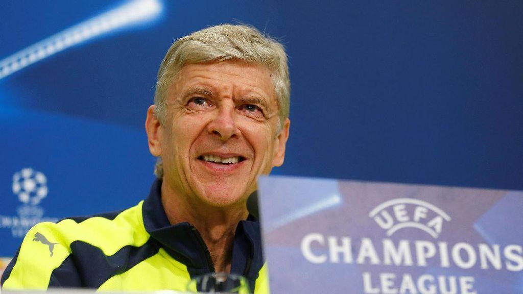 Wenger: Finis Kedua di Fase Grup Bukan Masalah Besar