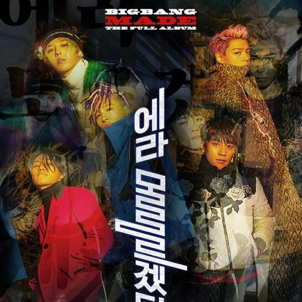 BIG BANG Rilis Poster Countdown Album Terbaru