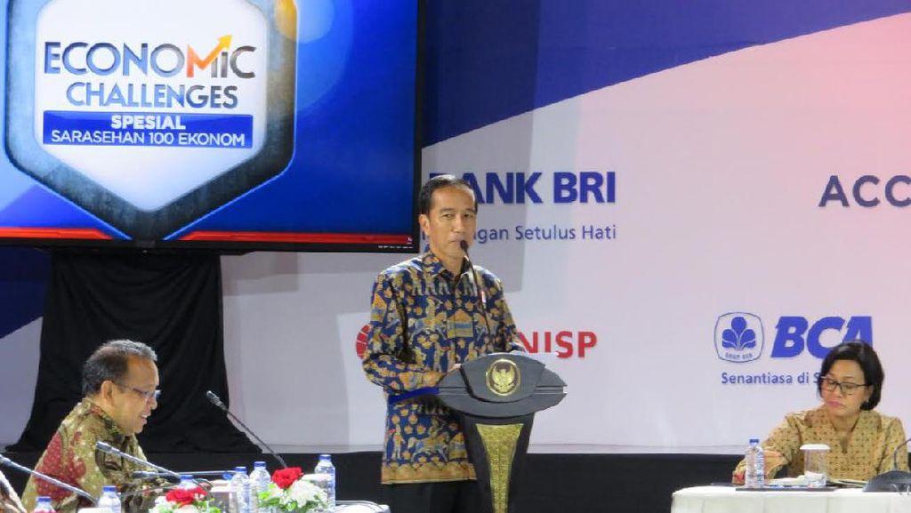 Ekonomi RI Dianggap Baik, Jokowi: Jangan Senang Dulu