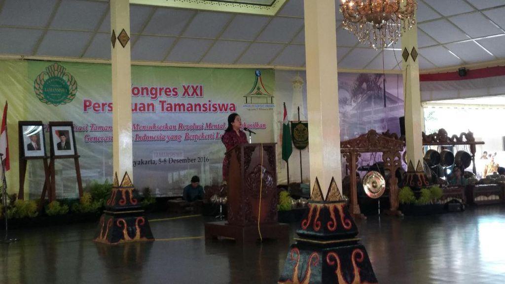 Menko Puan Buka Kongres XXI Persatuan Tamansiswa di Yogyakarta
