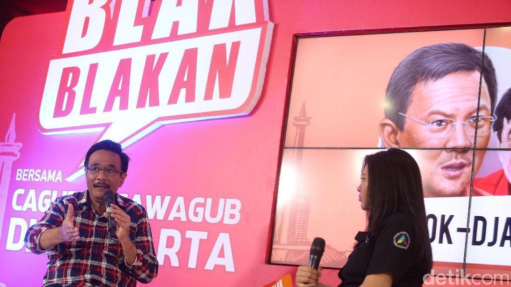 Djarot Akan Buat Kali di Jakarta Seperti Sungai Cheonggyeon Korsel