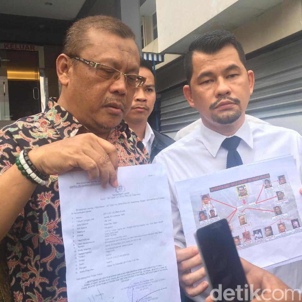 Dikaitkan dengan Upaya Makar, Eggi Sudjana Lapor Polisi