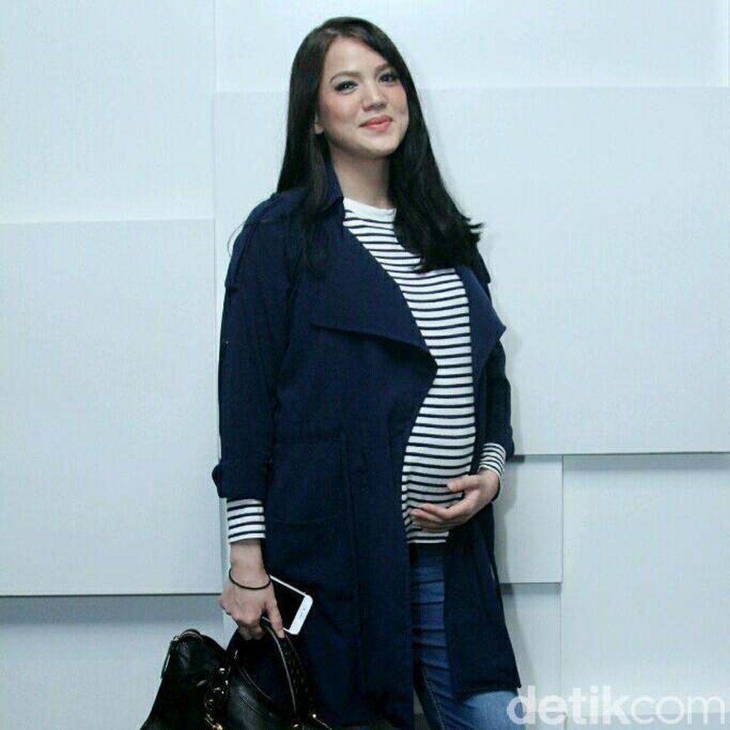 Kehamilan Genap 8 Bulan, Alice Norin Ingin Melahirkan Normal