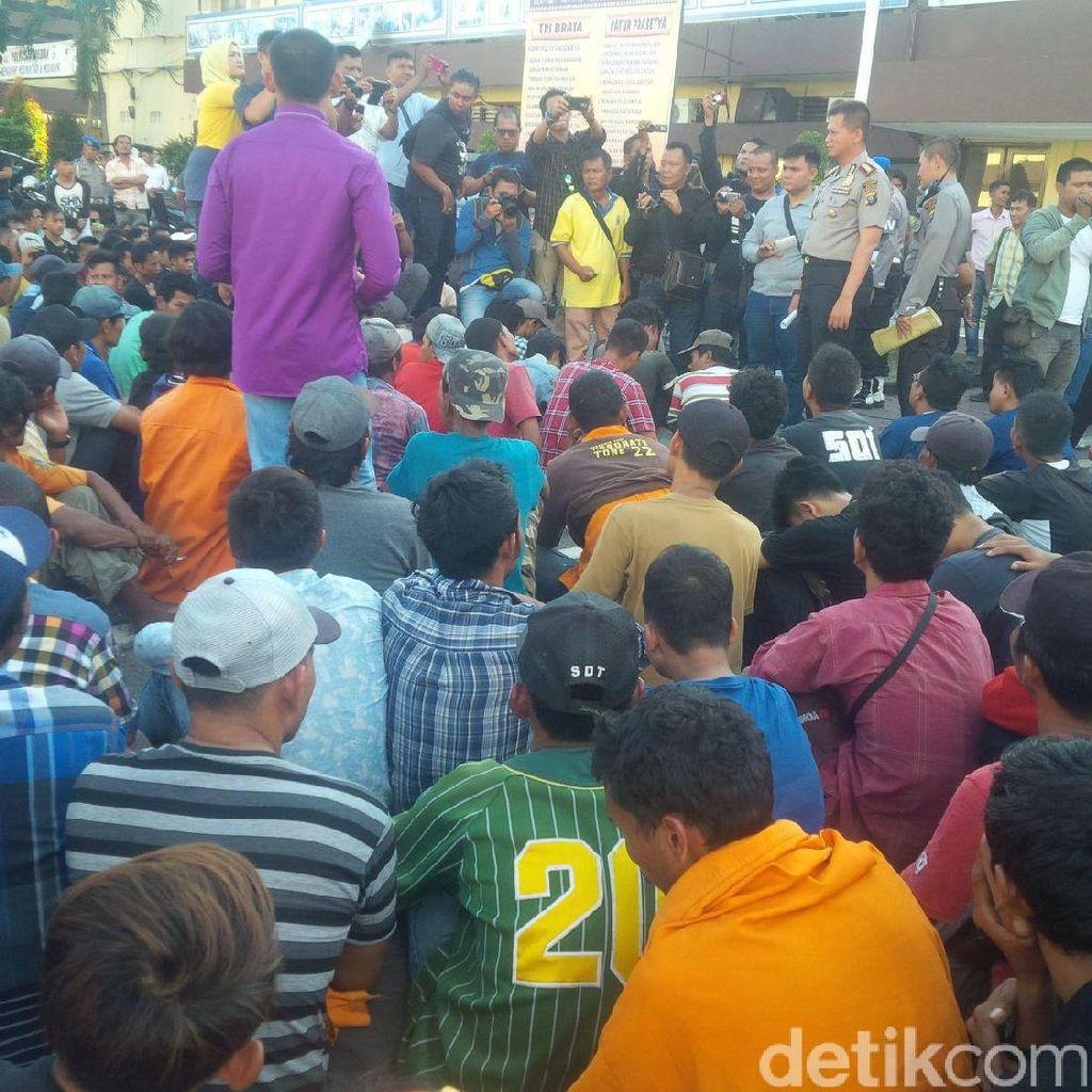 Tim Pemburu Preman Jaring 350 Orang yang Resahkan Warga Medan