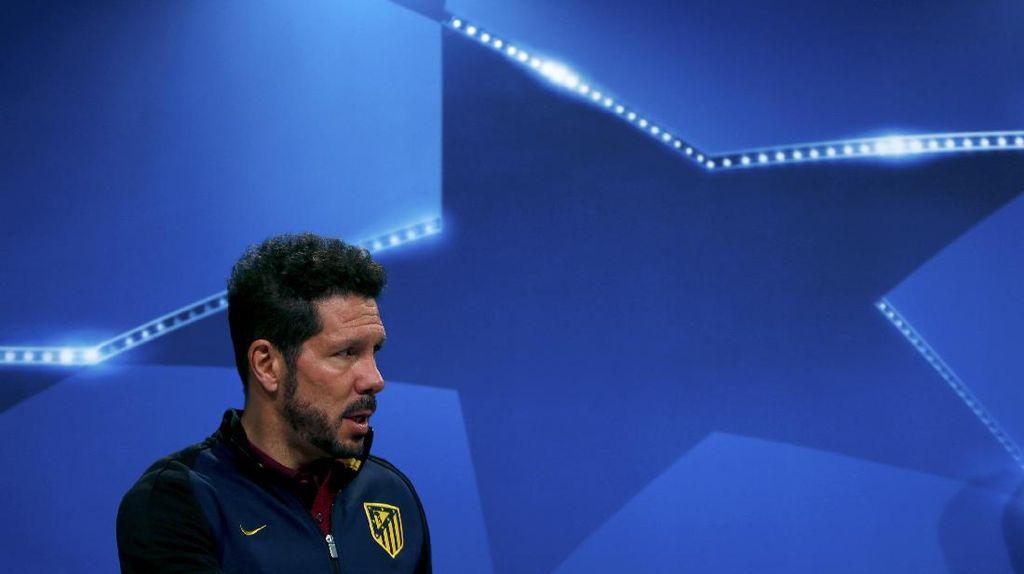 Bayern vs Atletico Tak Lagi Menentukan, Simeone: Mainlah untuk Kebanggaan
