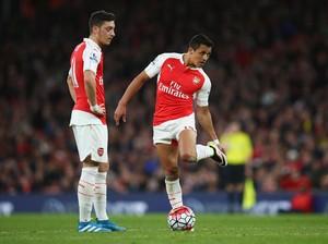 Alexis dan Oezil Diistirahatkan, Arsenal Tetap Tampil dengan 90% Pemain Tim Utama