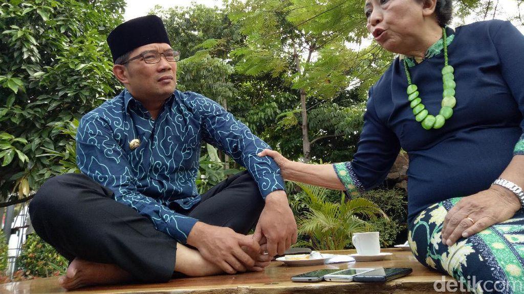 Bicara Penangkapan Wali Kota Cimahi dan Suaminya oleh KPK, Ceu Popong: Mengiris Hati