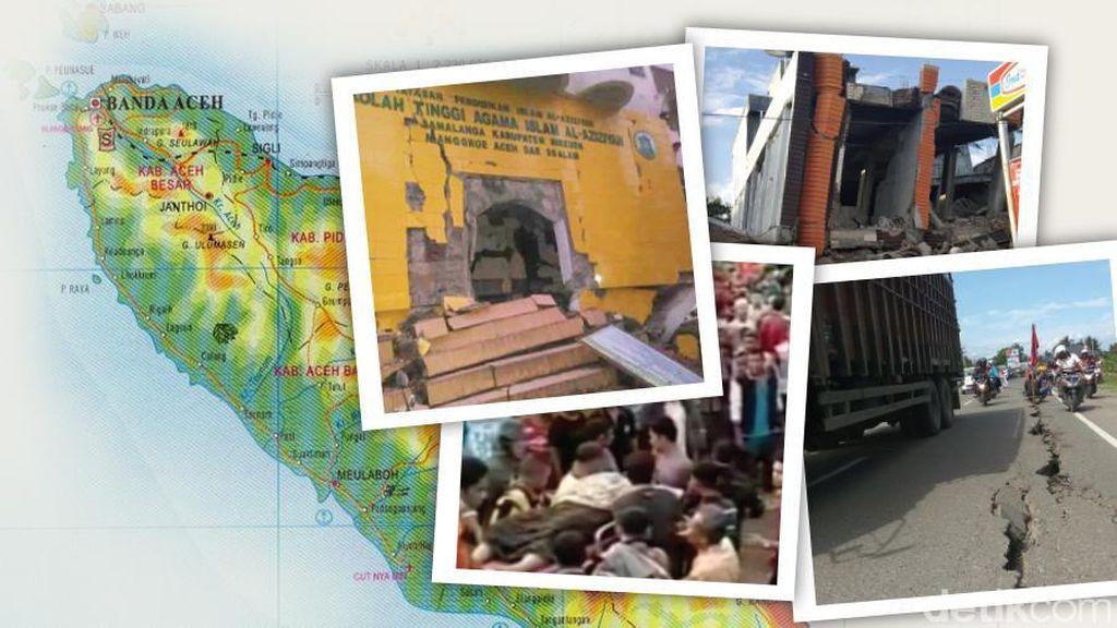 BNPB: Fasilitas Listrik dan Air di Aceh Usai Gempa Masih Berjalan Baik