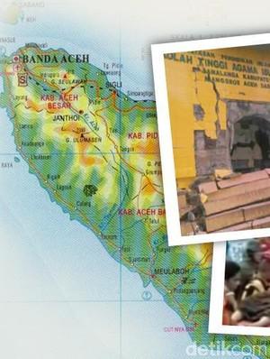 12 Tahun, 13 Gempa Guncang Aceh
