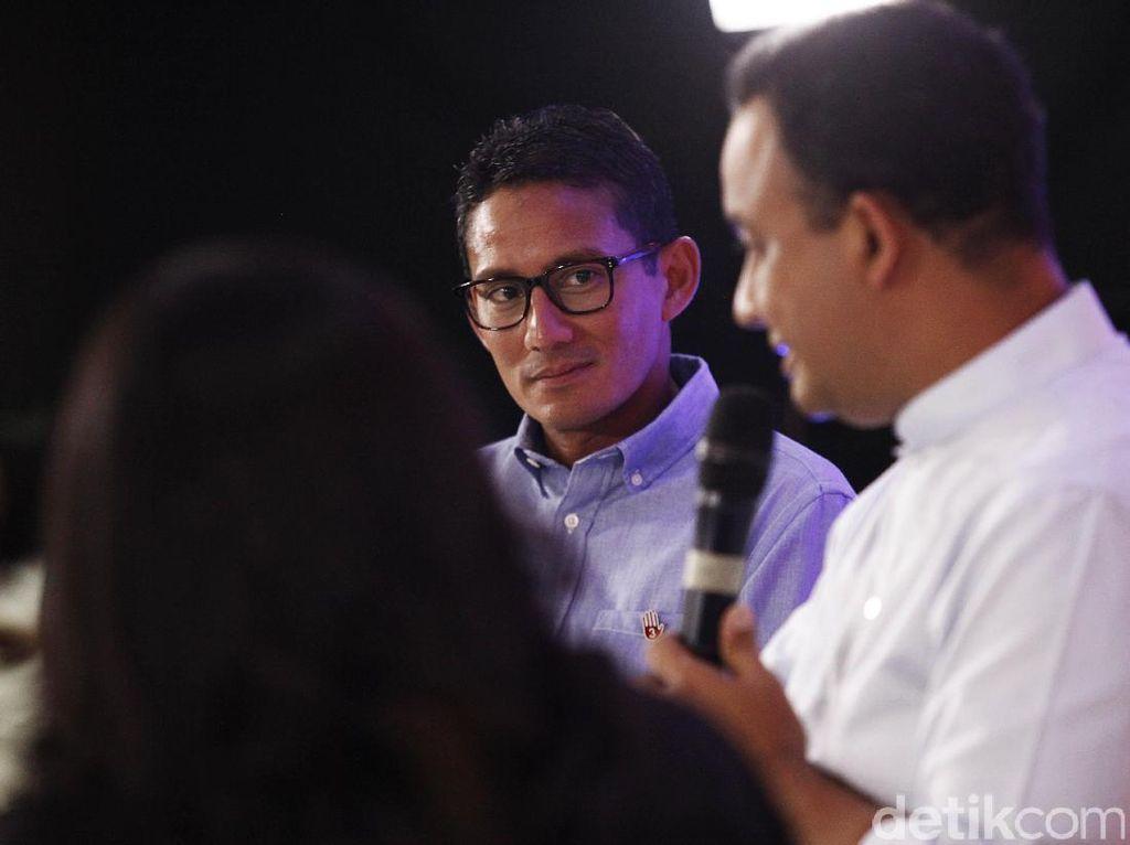 Sandi Sebut PR Anies di DKI untuk Jawab Survei 2024, Gerindra Sepakat