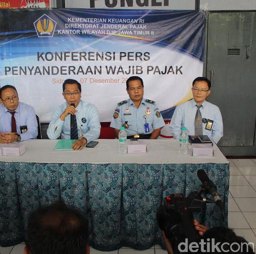 Seorang Penunggak Pajak Dititipkan di Lapas Porong