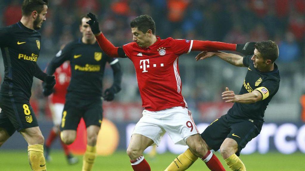 Bayern Hentikan Kesempurnaan Atletico